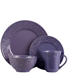 Lilac Fields 16 Piece Dinnerware Set