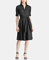 9a6d9297a9051 Lauren Ralph Lauren Fit   Flare Shirtdress. Quickview. 2 colors