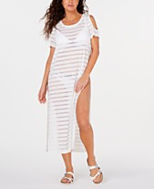 803a46cbb1ce1 White Swimsuit Coverups: Shop Swimsuit Coverups - Macy's