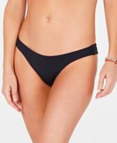 5289889ebfc09 Roxy Beach Classics High-Leg Cheeky Bikini Bottoms