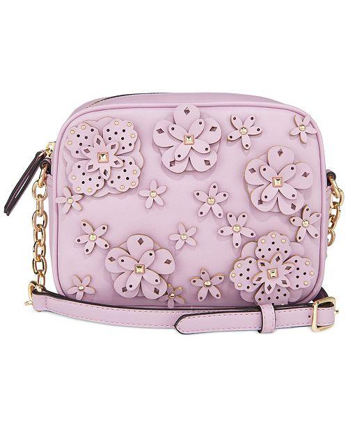 Nine West 3D Floral Nicolina Camera Bag
