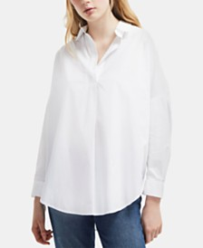 French Connection Rhodes Cotton Shirt