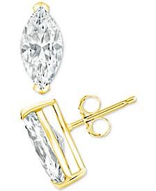Diamond Stud Earrings (1/5 ct. t.w.) in 14k Gold, 14k White Gold or 14k Rose Gold