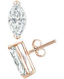 Diamond Stud Earrings (1/10 ct. t.w.) in 14k Gold, 14k White Gold or 14k Rose Gold