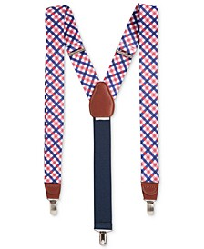 Men's Gingham Suspenders, Created for Macy's
