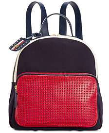 Tommy Hilfiger Julia Canvas Mix Backpack