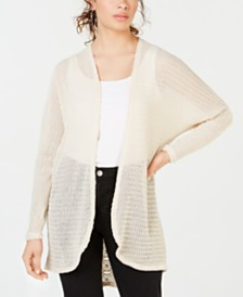American Rag Juniors' Lace-Trim Dolman Cardigan, Created for Macy's