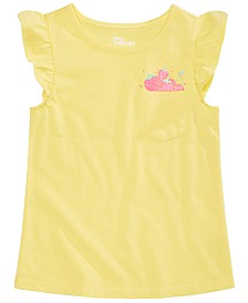 Epic Threads Little Girls Graphic Pocket T-Shirt, Created for Macy's