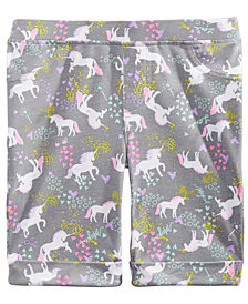 Epic Threads Toddler Girls Unicorn-Print Bermuda Shorts, Created for Macy's