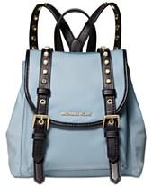 805b9558a4e9 MICHAEL Michael Kors Leila Mini Flap Nylon Backpack