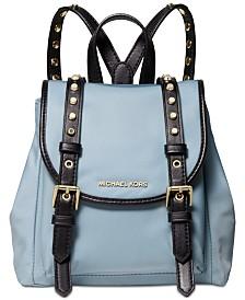 MICHAEL Michael Kors Leila Mini Flap Nylon Backpack