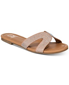 Material Girl Acelina Flat Sandals, Created for Macy's