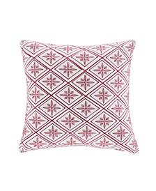"""Cherry Blossom 16""""x 16"""" Square Pillow"""