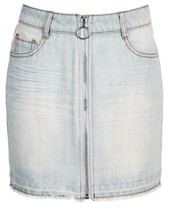 840095df12 Epic Threads Big Girls Side Stripe Cotton Denim Skirt, Created for Macy's
