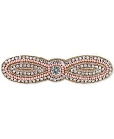 Deepa Gold-Tone Bead & Crystal Hair Clip