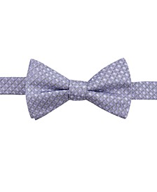 Men's Sinatra Neat Pre-Tied Silk Bow Tie, Created for Macy's