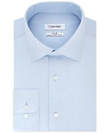 Calvin Klein Steel Regular Fit Non-Iron Performance Dress Shirt