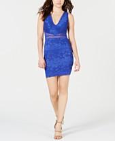 5c60b725f98b GUESS Brelee Lace Illusion Bodycon Dress
