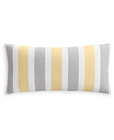 "Texture Stripe 12"" x 24"" Decorative Pillow, Created for Macy's"
