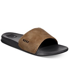 REEF Men's One Slide Sandals