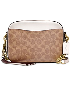 COACH Signature Camera Small Bag