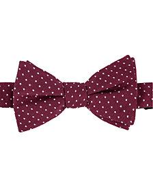 Tommy Hilfiger Men's Dot Pre-Tied Silk Bow Tie