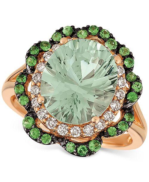 Le Vian Multi-Gemstone (4-1/6 ct. t.w.) Ring in 14k Rose Gold