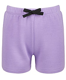 Little Girls Bow-Waist Shorts, Created for Macy's