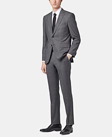 BOSS Men's Regular/Classic Fit Micro-Pattern Suit