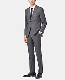 BOSS Men's Regular/Classic Fit Micro-Pattern Suit