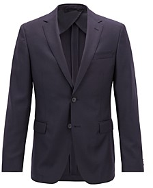 BOSS Men's Slim Fit Virgin Wool Jacket