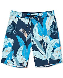 Billabong Little Boys Sundays Graphic Swim Trunks