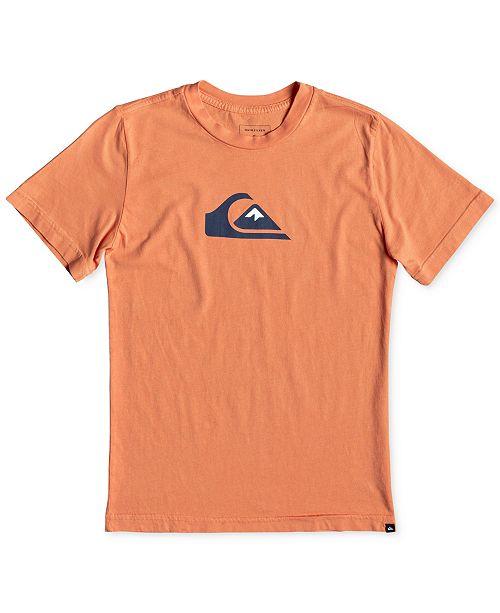 Quiksilver Boys Mountain Wave Logo T-Shirt
