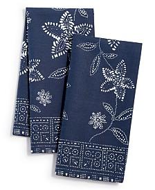 Lucky Brand Floral Sun Print Napkins, Set of 2