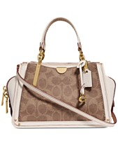 2b1dce2bf37fd COACH Signature Dreamer 21 Mini Satchel