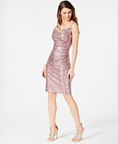 cfde8f4486 Laundry by Shelli Segal Embellished Ruched Sheath Dress