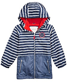 Carter's Toddler & Little Boys Striped Hooded Jacket