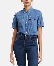 Levi's® Larissa Short-Sleeve Western Shirt