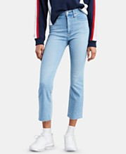 9a675975d6 Levi's® Mile High Cropped Flared Jeans