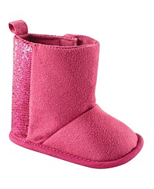Winter Boots with Glitter, 0-18 Months