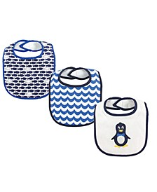 Drooler Bibs, 3-Pack, One Size