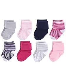 Baby Socks, 8-Pack, 0-24 Months