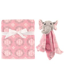 Hudson Baby Plush Blanket and Security Blanket, One Size