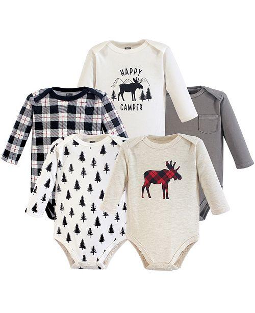 016332861edb ... Baby Vision Hudson Baby Long Sleeve Bodysuits, 5-Pack, 0-24 Months ...