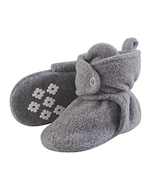 Cozy Fleece Booties with Non Skid Bottom
