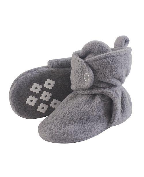 94a2a27a4d3 Little Treasure Cozy Fleece Booties with Non Skid Bottom
