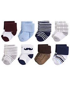 Terry Socks, 8-Pack