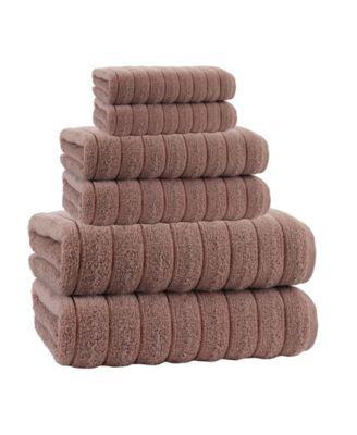Vague 6-Pc. Turkish Cotton Towel Set