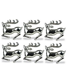 Stag Napkin Ring, Set of 6