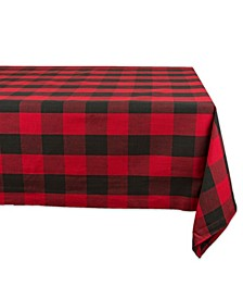 "Buffalo Check Tablecloth 60"" x 120"""